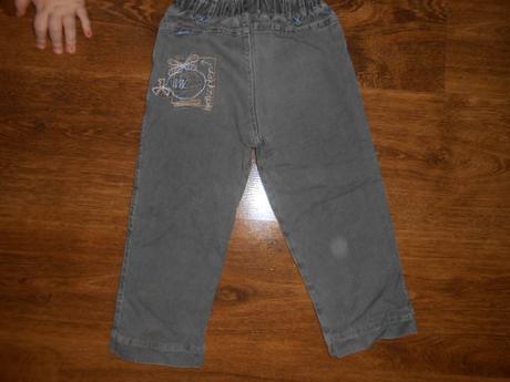 Zateplené džíny, značka dany, velikost 92, 92