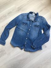 Džínová košile, h&m,128
