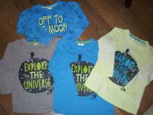 Dětská bavlněná trička s dl. rukávem vel. 110, pepco,110