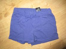 Měkké pohodlné bavlněné kraťásky, šortky, h&m,116
