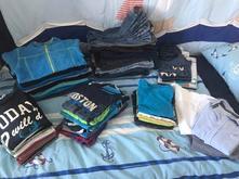 Kalhoty, triko, mikina, košile, 4-6 let, 110-122,