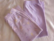 Vel. 92 fialové pyžamové kalhoty , 92