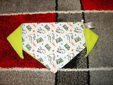 Šátek na krk pro kluka - vel.baby one size,