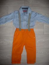 Chlapecký set, košile+kalhoty, 86