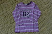 Růžové tričko s proužky zn. topolino vel. 98, topolino,98