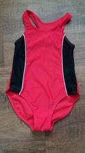 Červené plavky sportovního střihu, 98