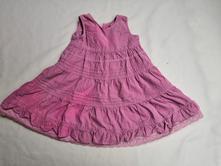 Růžové šaty next vel. 86, next,86