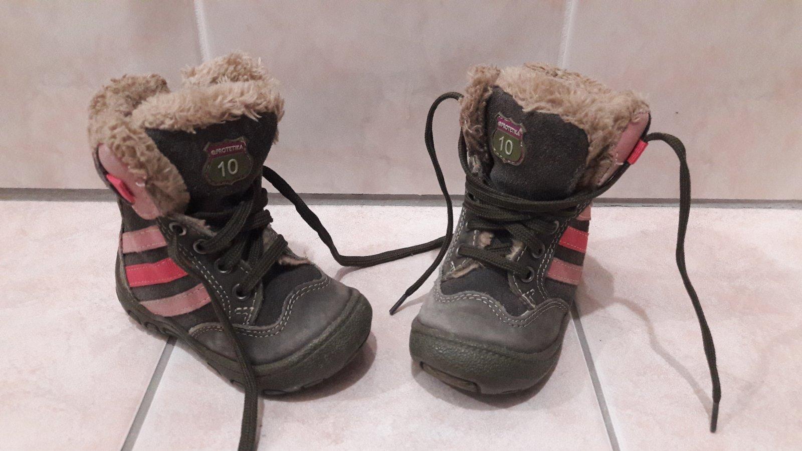 f1001498e55c Zimní boty protetika - velikost 19