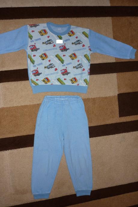 Froté pyžamo na kluka, 116