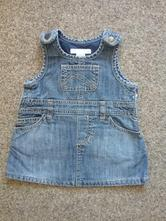 Džínové šaty, h&m,62