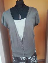 Khaki vesta - svetr s krátkými rukávy, george,46
