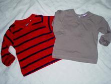 Duo super bavlněných triček pro berušku, h&m,62