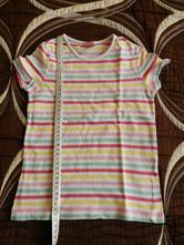 Tričko krátký rukáv proužky, kiki&koko,104