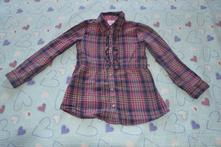 Slušivá praktická dívčí košile, halena 122/128, topolino,128