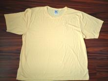 Pěkné žluté tričko s výšivkou xxl, xxl