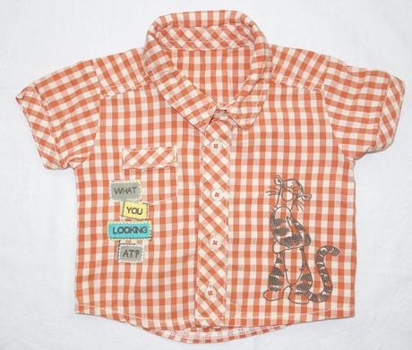 Košile s krátkým rukávem vel. first size, disney,50