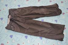 Plátěné kalhoty s regulací v pase, next,122
