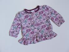K1025 květované triko vel. 62, miniclub,62