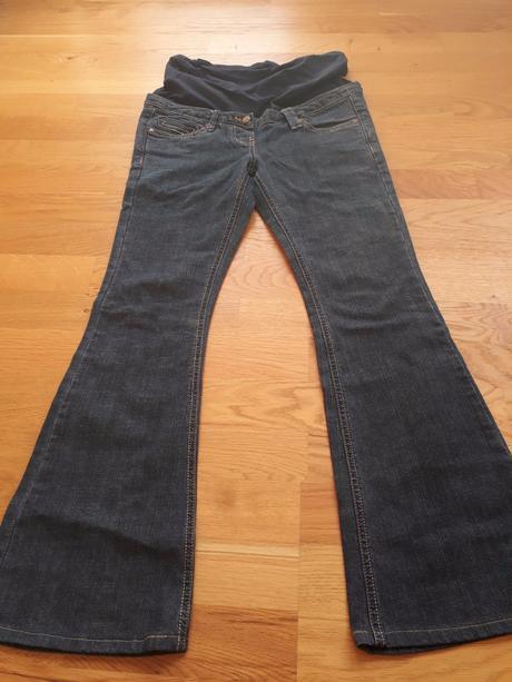 Těhotenské džíny vel. 36, 36