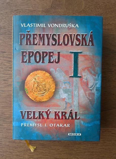Kniha - přemyslovská epopej, vlastimil vondruška,