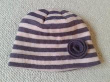 Čepice pruhovaná úpletová, tcm,134