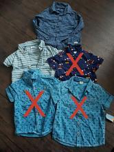 Košile 92 a 98, f&f,92