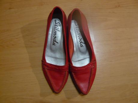 Kožené boty, 38