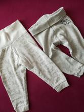 2 teplacky/kalhoty, lupilu,74