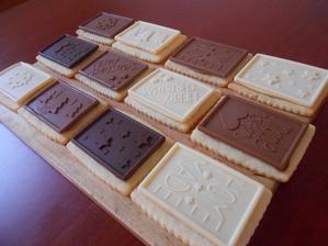 Sušenky s čokoládou:)