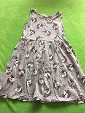 Šaty s jednorožci, h&m,122