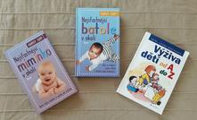 Literatura pro rodiče, knihy o výchově a stravě,