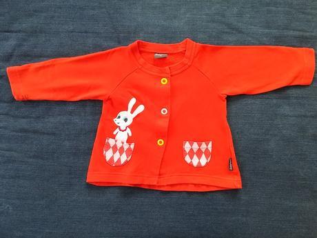 Mikina červená se zajíčkem littlephant zn. lindex, lindex,74