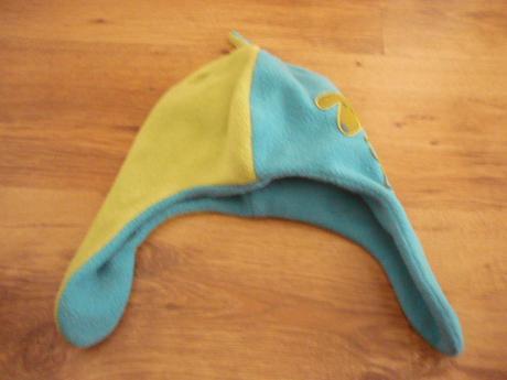 Fleecová čepice s pejskem, 104