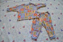 Bavlněné pyžamko - kovbojské, vel. 81-86, george,86