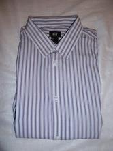 2172-košile dlouhý rukáv vel. l, h&m,l