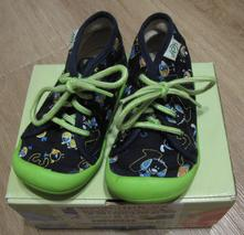 Dětské bačkory na šněrování, obuv9, dpk,21
