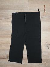Elastické capri kalhoty, 38