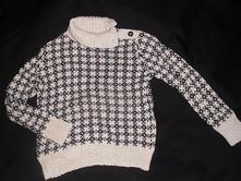 2279- zimní svetr 4-6 let, h&m,110