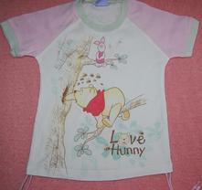 Tričko s medvíkem pú, disney,86