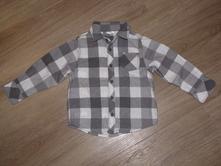 Kostkovaná košile pro chlapce, obl100, f&f,86