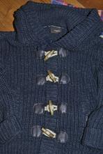 Next silný svetr s kapucí na zip, next,110