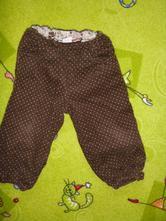 Manžestrové kalhoty, h&m,86