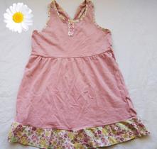 Růžové šaty lemované květinovým vzorem lupilu v.98, lupilu,98