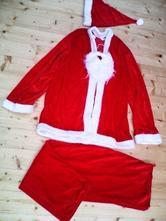 Vánoční kostým, mikuláš, santa claus,