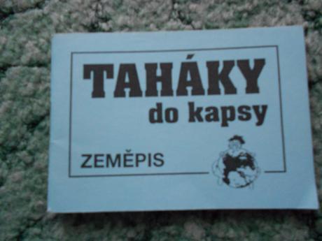 Taháky do kapsy - zeměpis ii.,