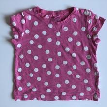 Lindex puntíkové letní tričko, lindex,92