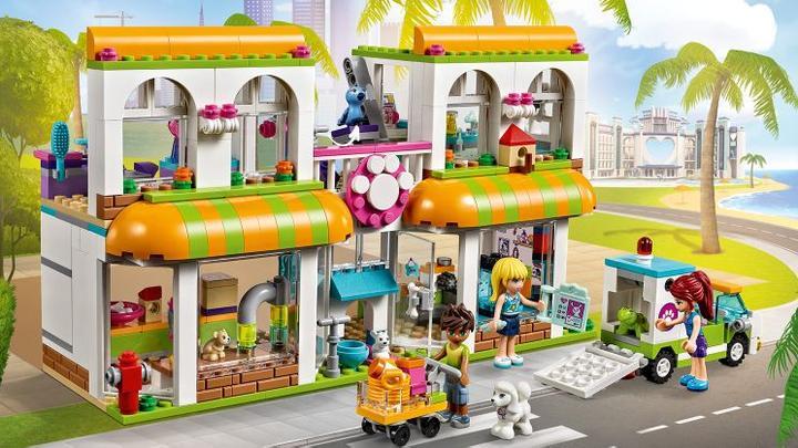 Nelinky hlavní dárek - její největší přání = Lego Friends