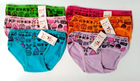 Dívčí kalhotky klasické, 92 - 140