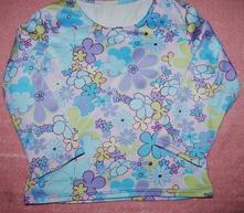 Květované tričko vel. 98, 98