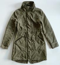 Zateplená parka kabát vel. 36-38 / s-m, m